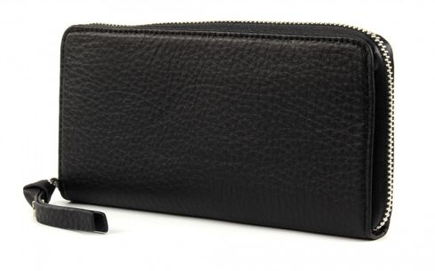 GEORGE GINA & LUCY Leather Nown Waletta Wallet Blacksilver
