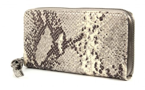 GEORGE GINA & LUCY Leather Nown Waletta Wallet Pythongun