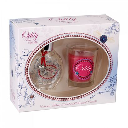 Oilily Blue Sparkle Eau de Toilette 50 ml + Candle