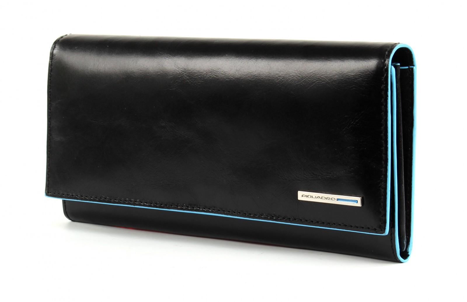 PIQUADRO Blue Square L Wallet Nero