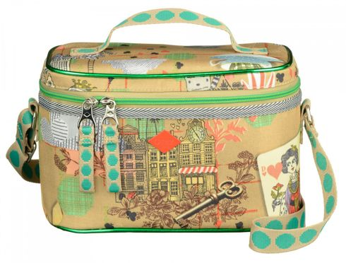 Oilily Playing Cards Lunch Box Sand