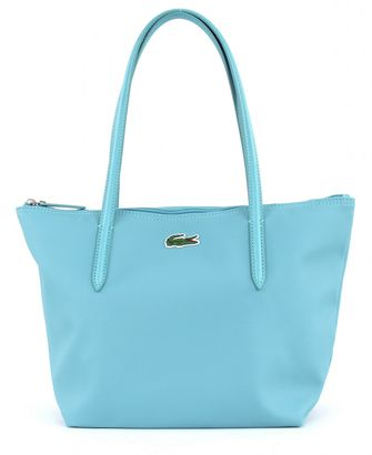 LACOSTE L.12.12 Concept Medium Small Shopping Bag Marine Blue