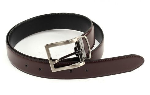 La Martina Men Double Belt 3,5 W95 Black / Brown