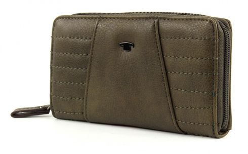 TOM TAILOR Isabella L Wallet Khaki