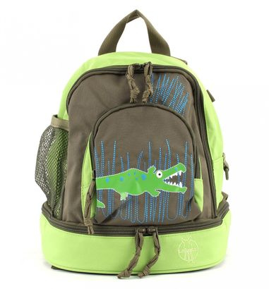 Lässig 4Kids Mini Backpack Crocodile Granny