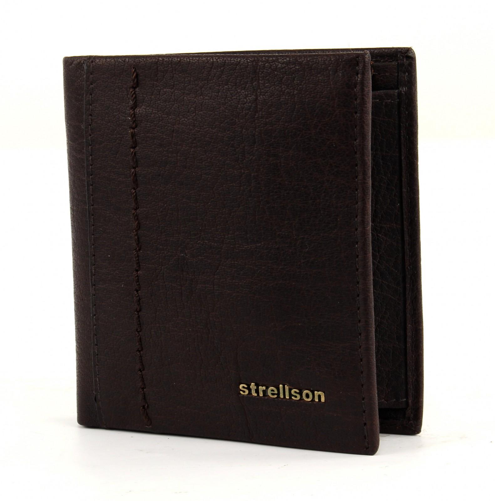 strellson Walker Billfold Q7 Dark Brown