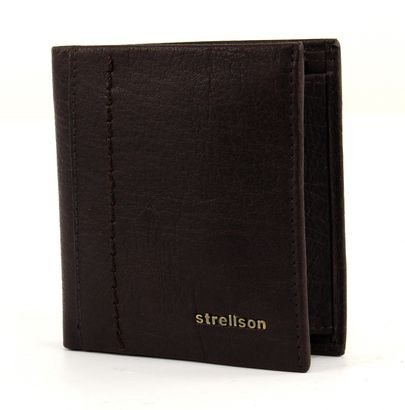 strellson Walker Billfold Q7 Dark Brown