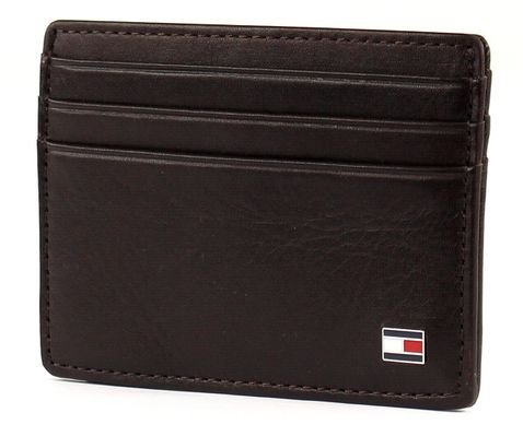 TOMMY HILFIGER Eton CC Holder Brown