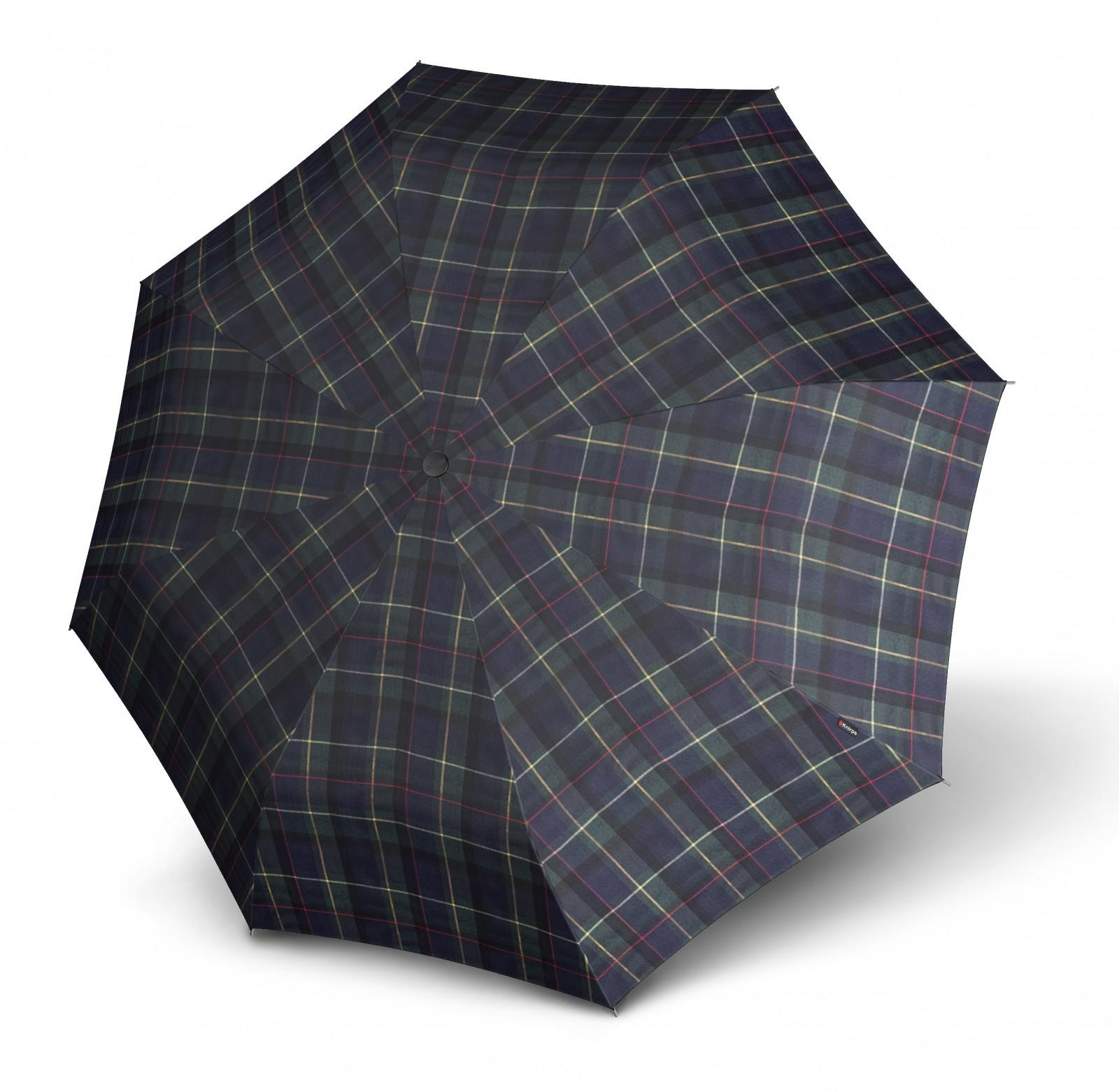 Knirps T.200 Medium Duomatic Regenschirm Kelly Blue Uv-protection Blau Schirme Reisen