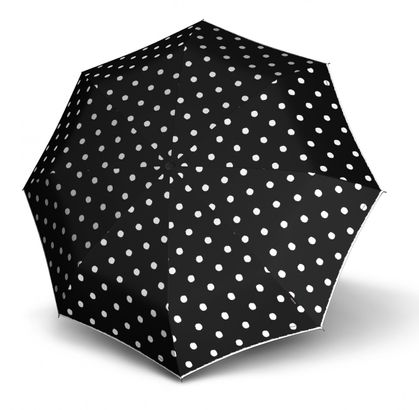Knirps T.200 Medium Duomatic Dot Art Black