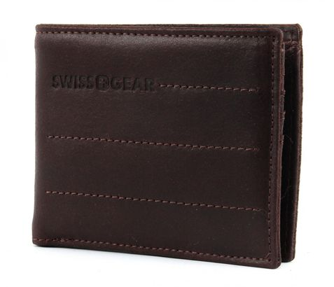 SWISS GEAR Street Hunter Coin Wallet 4CC Brown
