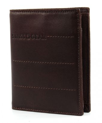 SWISS GEAR Street Hunter Coin Wallet 8CC Brown