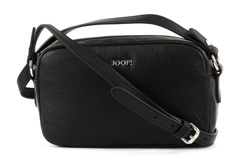 JOOP! Cloe Soft Leather Shoulder Bag S Black