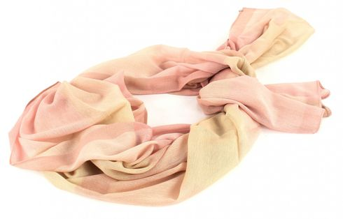 ESPRIT Light Check Scarf Pastel Pink