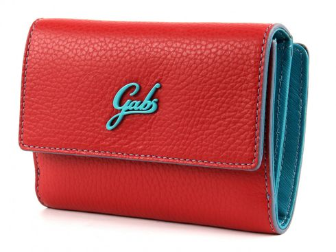 Gabs GMONEY St. Dollaro Small Flap Purse Red