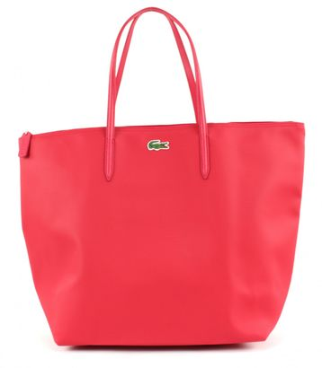 LACOSTE L.12.12 Concept Travel Shopping Bag Virtual Pink