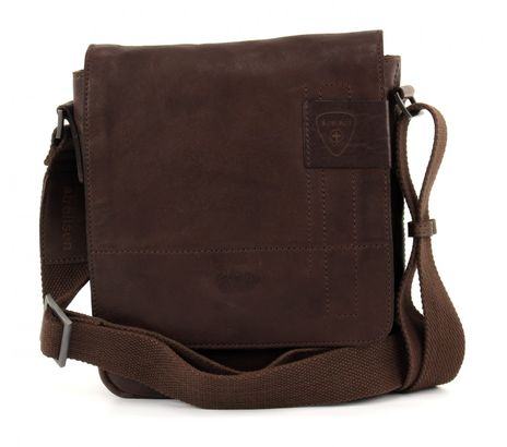 strellson Upminster Messenger SV Dark Brown
