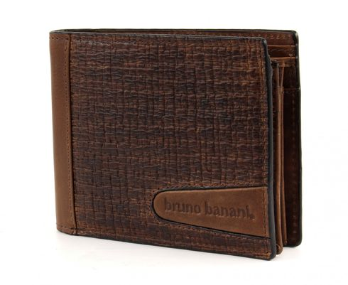 bruno banani Texas Wallet Quer Brown