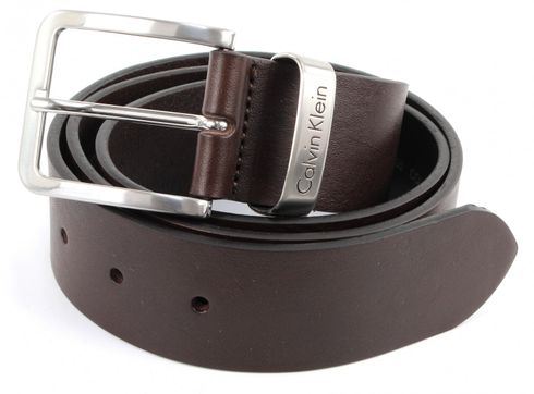 Calvin Klein Mino Belt 1 W115 Dark Brown