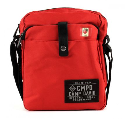 CAMP DAVID Clifton Crossbag Brick