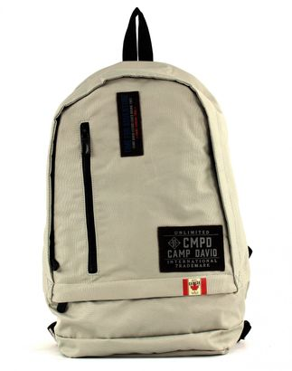 CAMP DAVID Clifton Backpack Stone