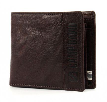 CAMP DAVID Mount Churchill Pocket Wallet Horizontal Brown