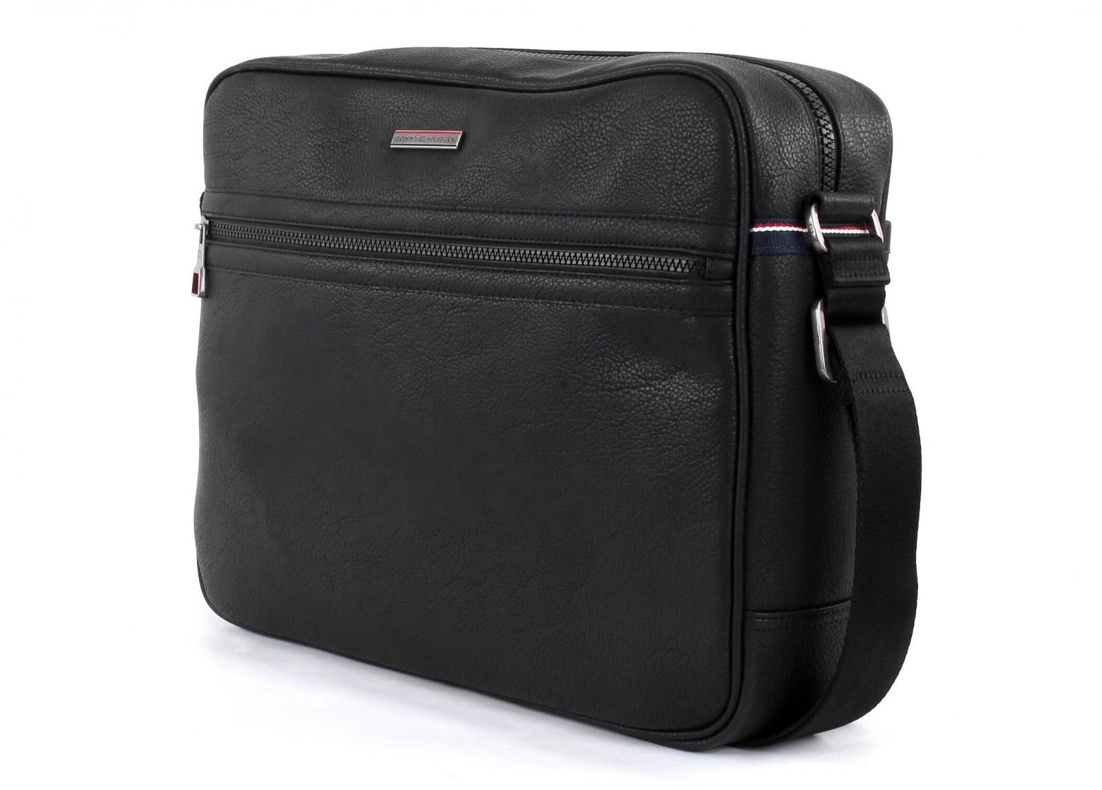 tommy hilfiger cross body bag essential messenger black ebay. Black Bedroom Furniture Sets. Home Design Ideas