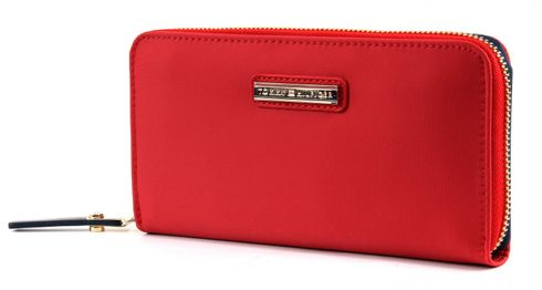 TOMMY HILFIGER Poppy Large Zip Around Wallet Lipstick