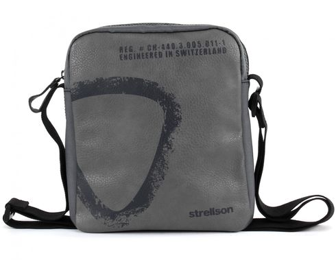 strellson Paddington Shoulder Bag SV Grey