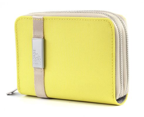 GEORGE GINA & LUCY Nylon Pay Bag Lemon Baby