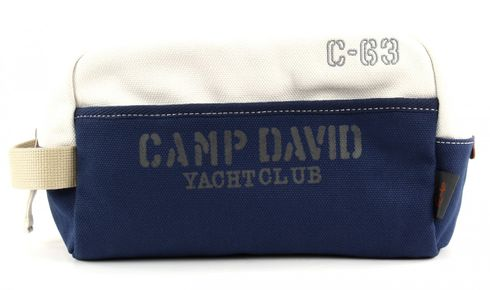 CAMP DAVID Deep River Toilet Bag White