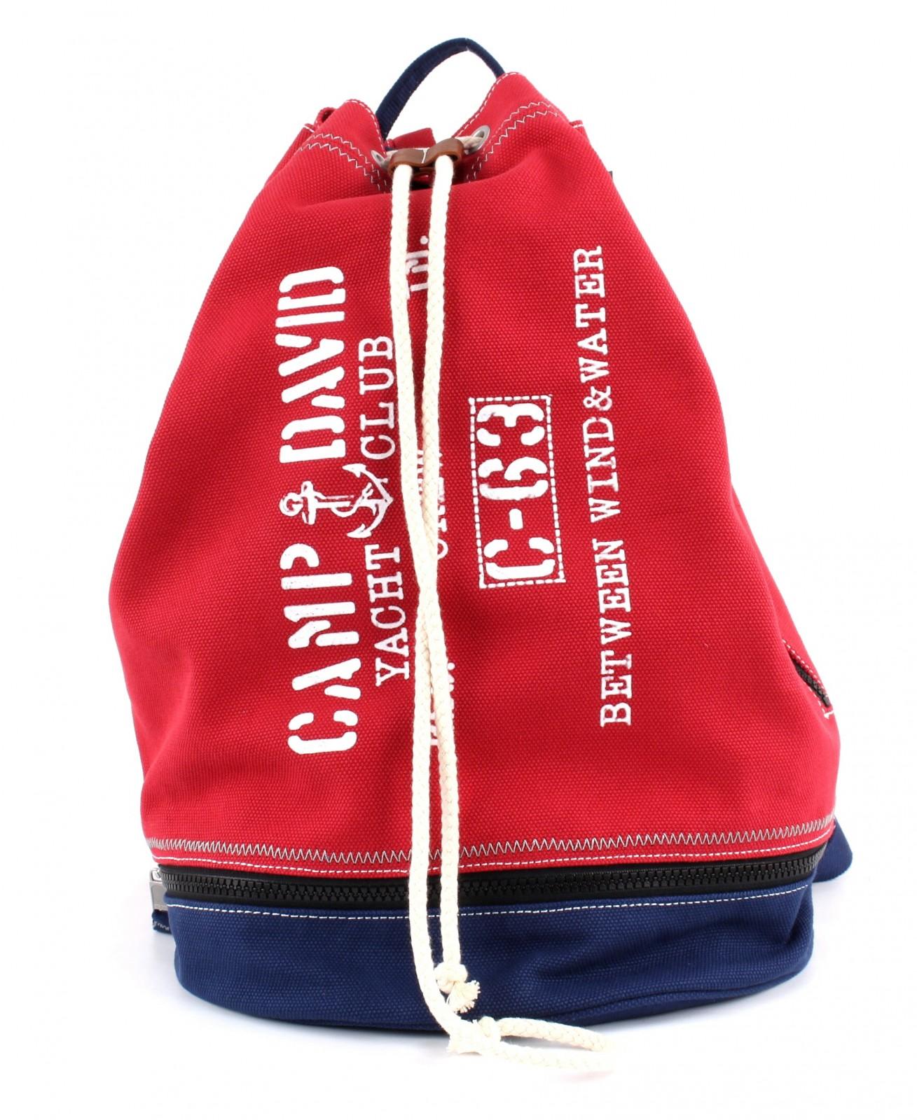 CAMP DAVID Deep River Backpack Red