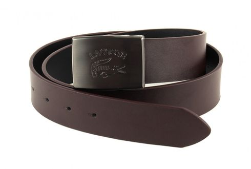LACOSTE Adjustable Belt W85 Brown