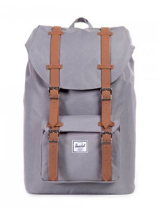 Herschel Little America Mid-Volume Backpack Grey / Tan
