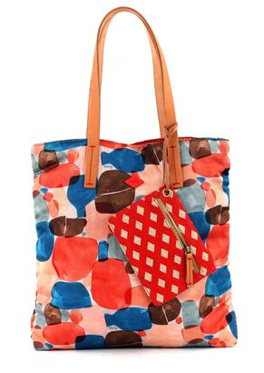 Oilily Blend Tote Sunset