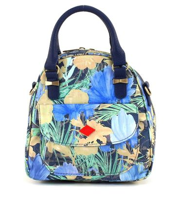 Oilily Flower Field S Handbag Blueberry