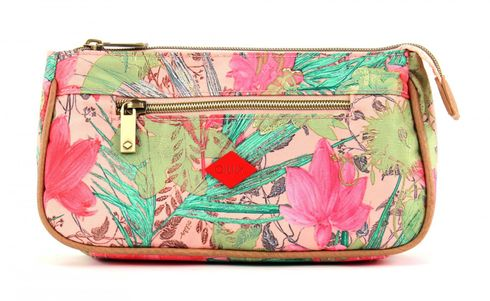 Oilily Flower Field Basic Cosmetic Bag Melon