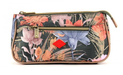 Oilily Flower Field Basic Cosmetic Bag Fig