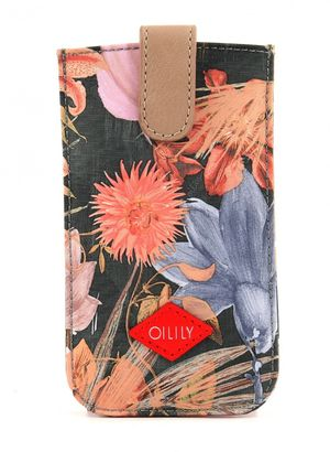 Oilily Flower Field Smartphone Pull Case Fig
