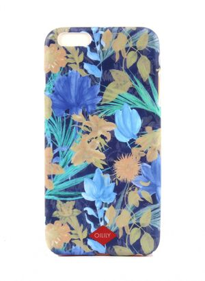 Oilily Flower Field iPhone 6 Plus Case Blueberry