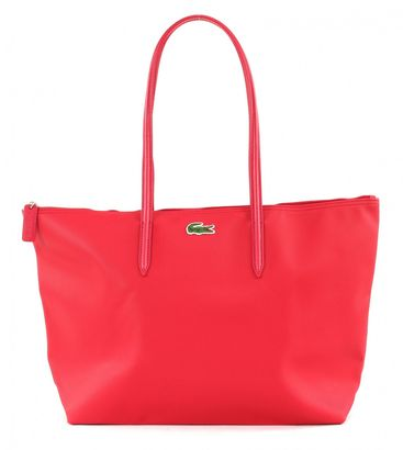 LACOSTE L.12.12 Concept L1 Large Shopping Bag With Drop Virtual Pink