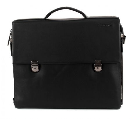 MANDARINA DUCK Duplex Douple Briefcase Black