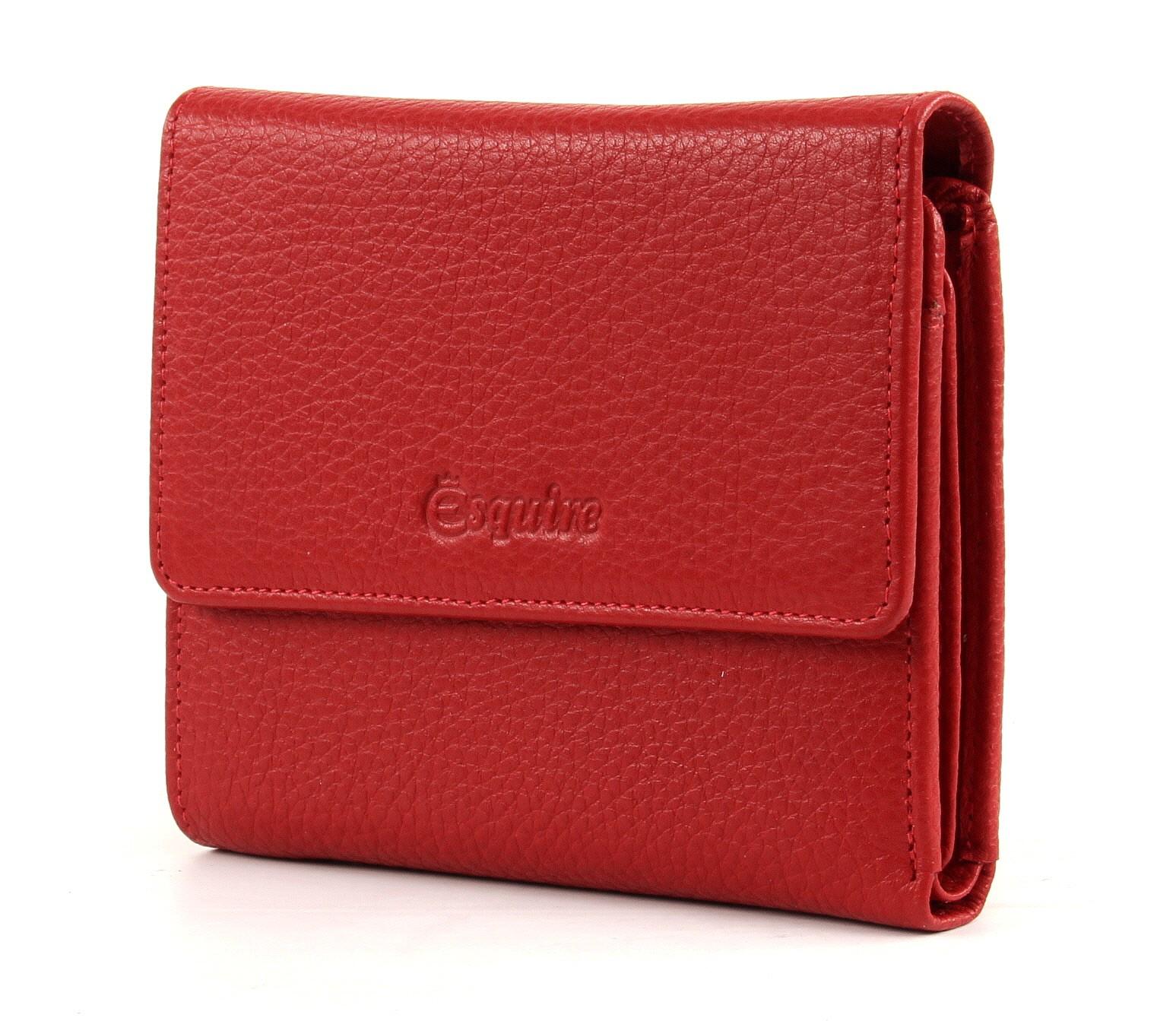 große Auswahl von 2019 Stufen von heiß-verkaufende Mode Details zu Esquire Primavera Ladies Purse M Geldbörse Portemonnaie  Geldbeutel Leder Rot Red