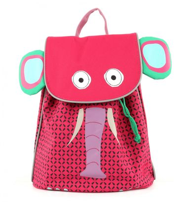 Lässig 4Kids Mini Duffle Backpack Wildlife Elephant