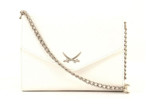Sansibar Chic Clutch Bag White