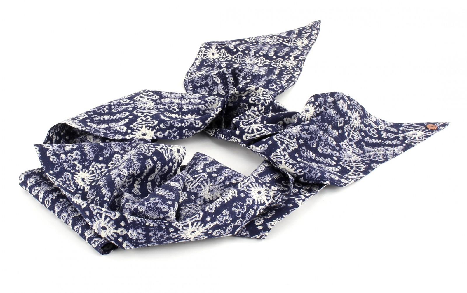 ESPRIT edc Skinny Square Scarf Dark Blue