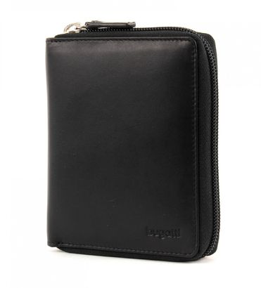 bugatti Primo Zip Wallet Black