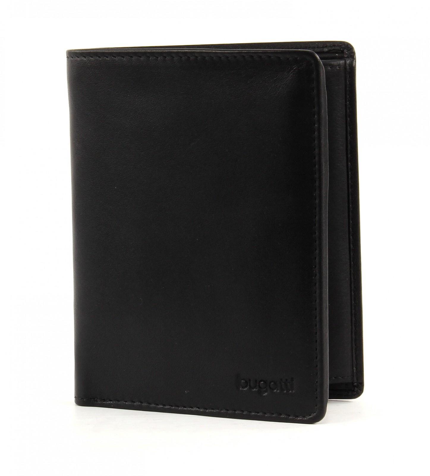 bugatti Primo Coin Wallet Combi Style 8CC Black