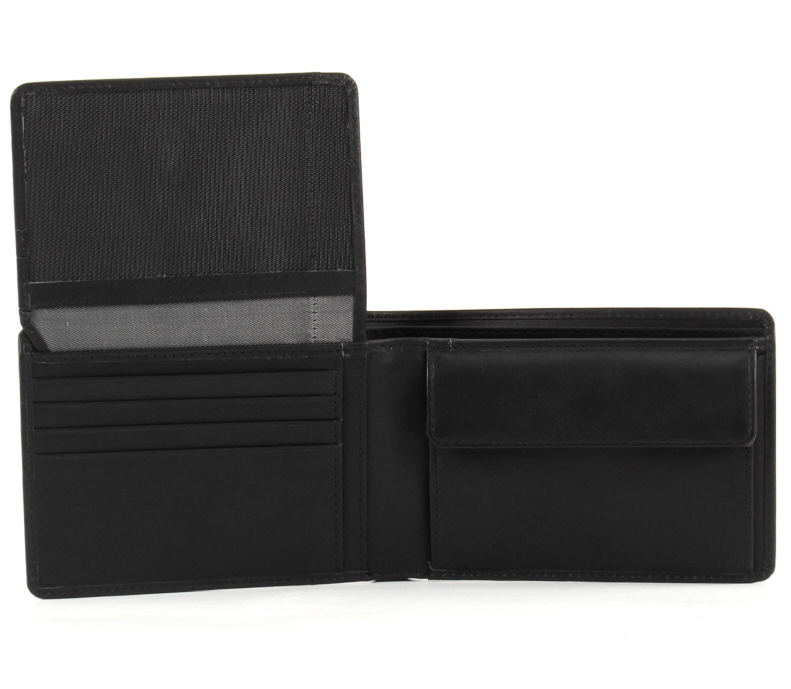 Kleidung & Accessoires Bugatti Primo Coin Wallet 4cc Geldbörse Portemonnaie Neu Herren Schwarz Black Herren-accessoires