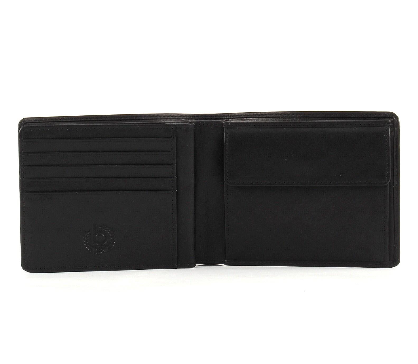 bugatti Primo Coin Wallet 10CC Black